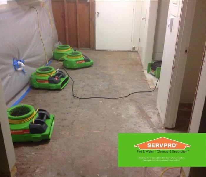 Water Damage Precautions - Lincoln City, OR