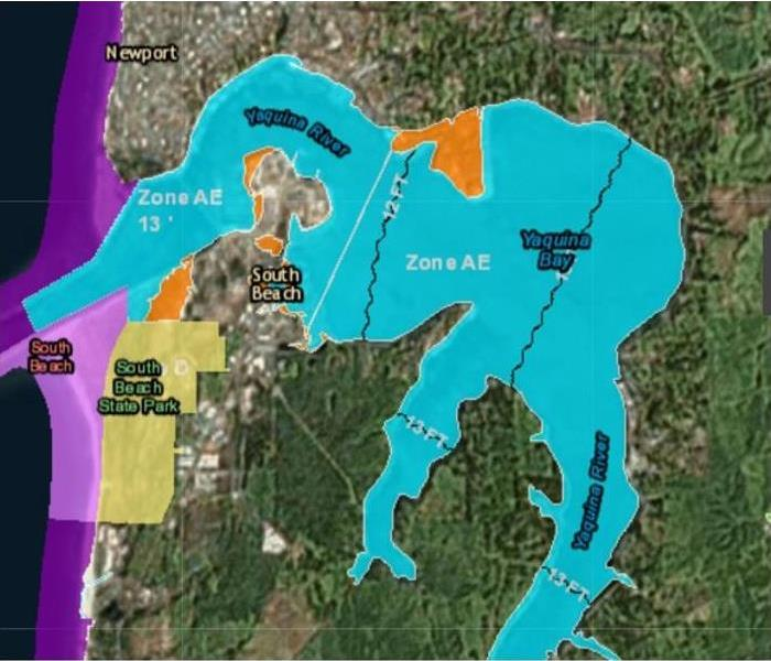 Newport Oregon Flood Map Servpro Of Lincoln Polk Counties